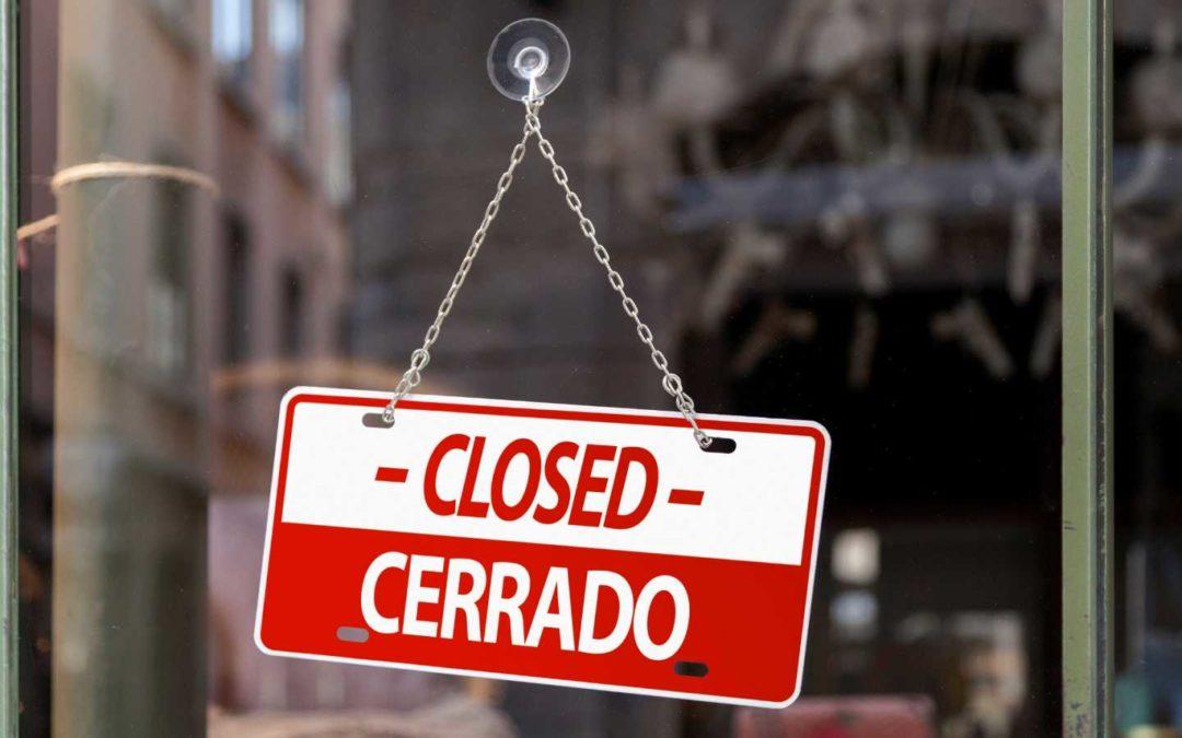 El Departament de Salut  fa oficial el tancament de 25.000 bars, restaurants i discoteques de Catalunya
