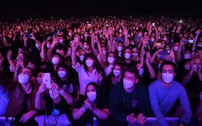La FECASARM valora molt positivament el resultat del concert al Palau St Jordi i demana una desescalada urgent de l'oci nocturn sotmesa a mesures de seguretat
