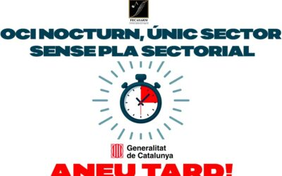 Demà es reprenen les negociacions per la reobertura de l'oci nocturn pero la FECASARM considera que la Generalitat arriba tard