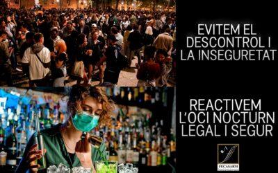 L'Ajuntament de Barcelona veu amb bons ulls un assaig general previ a la reactivació de l'oferta nocturna legal